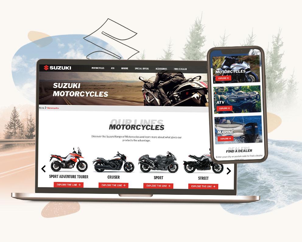 Suzuki Website Case Study