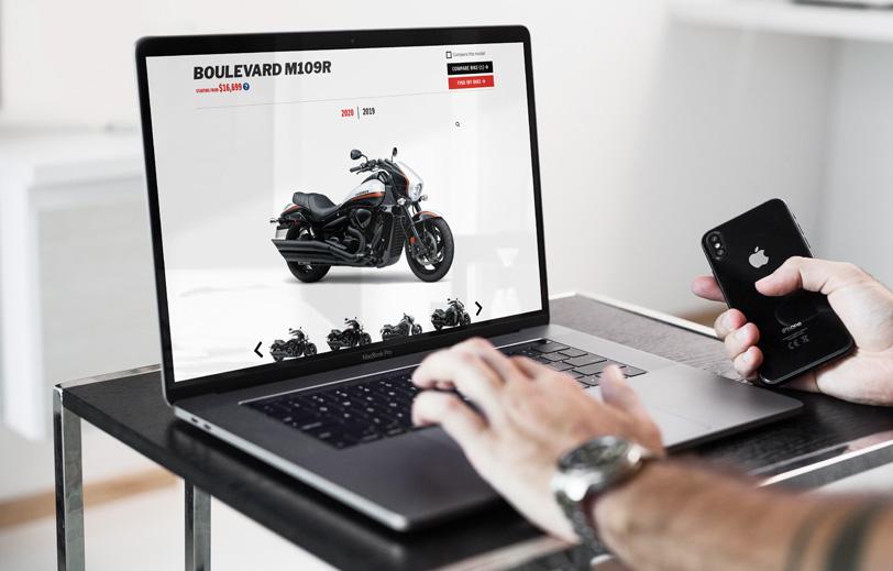 Suzuki Website Laptop Mock