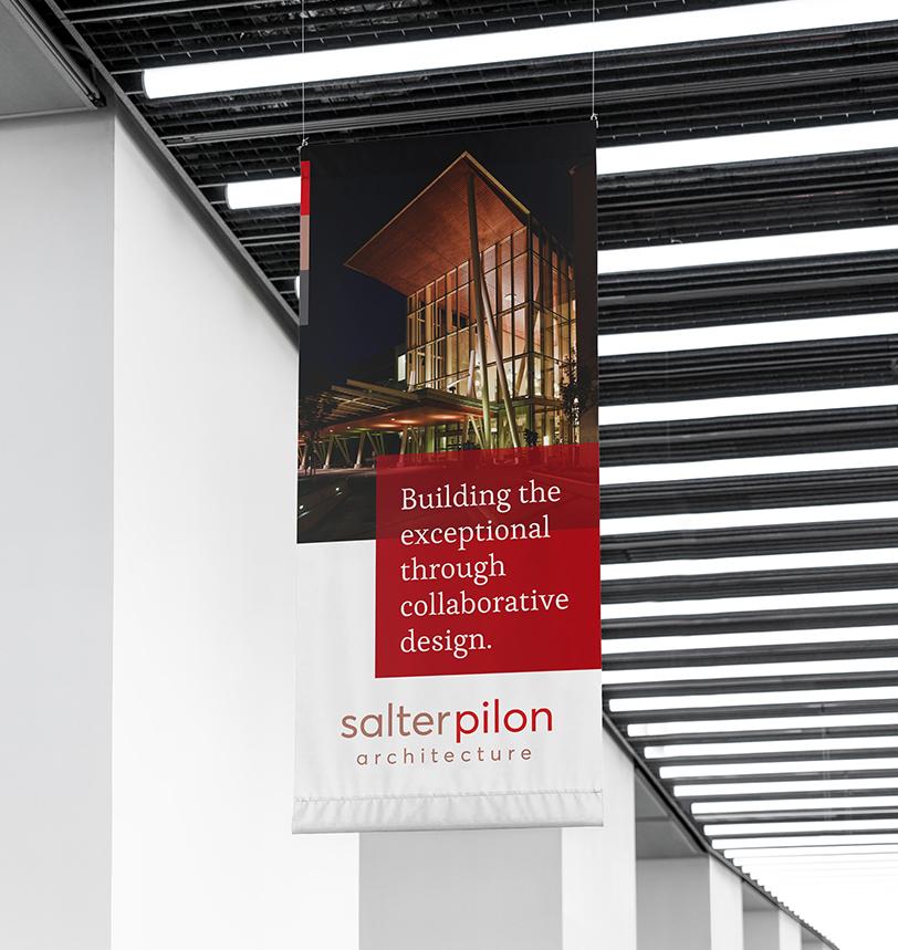 Salter Pilon Hanging Banner